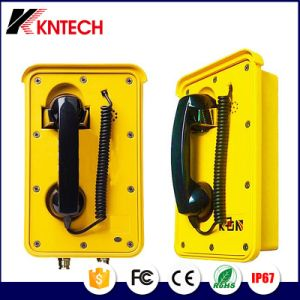 Flush Mounting Type Outdoor Emergency Telephone Industrial Railway Telephone Knsp-10 pictures & photos