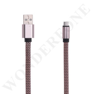 Nylon Braided USB Data Charging Cable for Android Phone pictures & photos