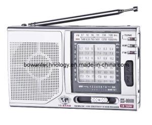 FM/MW/SW1-8 10 Band Pocket Radio (BW-9803)