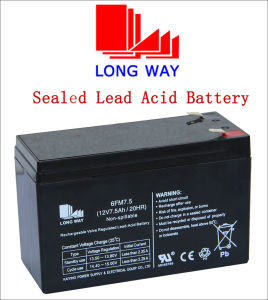 12V Valve Regulated Toys UPS Lead Acid Battery pictures & photos