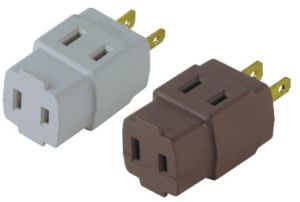 2 Flat Pin USA Style Electrical Plug pictures & photos