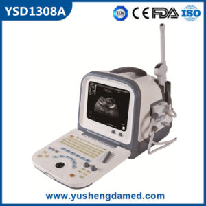 Ysd1308A Medical Equipment Ultrasonic Diagnostic Full Digital Portable Ultrasound pictures & photos