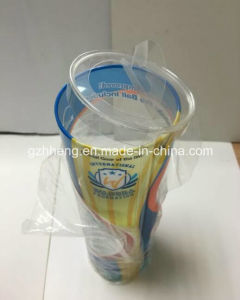 Clear Column/Cylinder Plastic Box for display (printed box) pictures & photos