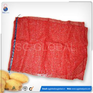 PE Raschel Bag for Onion and Potato Packing pictures & photos
