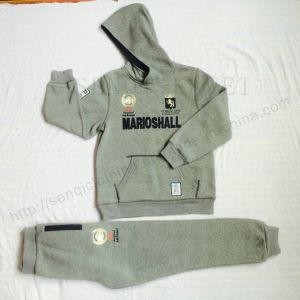 Fashion Children Popular Kids Sport Suits Clothes with Hoodies and Pants Sq-6715 pictures & photos