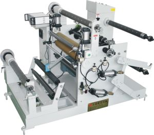 Foil and Paper Label Slitting Rewinding Machine (DP-650) pictures & photos