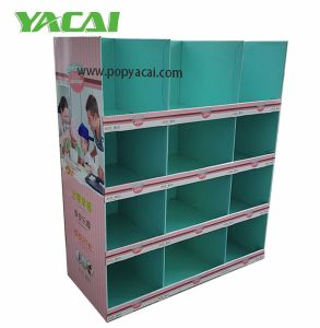 Walmart Single-Sided Kitchenware Cardboard Pallet Display, Half Pallet Standard Cardboard Pallet Display pictures & photos