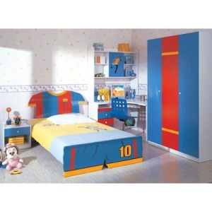 Kids Children Baby Furniture Wooden Colorful Hotel Bedroom Furniture (WJ277531) pictures & photos