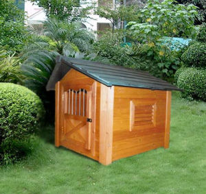 Outdoor Dog Kennel Dog Houses for Large Dogs pictures & photos