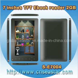 7 Inches Rockchip TFT Ebook Reader 2GB Memory (S-E7004)