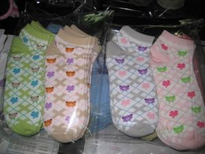 Ladies′ Socks (HGS8830)