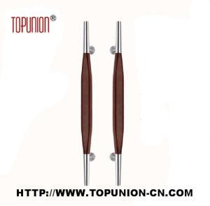 304 Stainless Steel Door Wooden Pull Handle (TU-350-M) pictures & photos