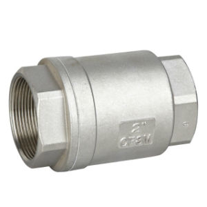 Industrial Ss Thread Vertical Check Valve pictures & photos