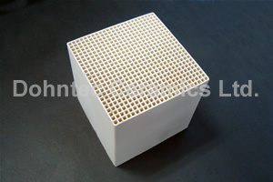 Porcelain Honeycomb Blocks