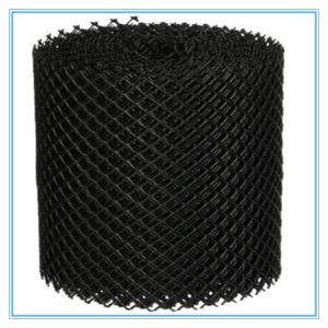 Black Plastic Gutter Guare Mesh Type