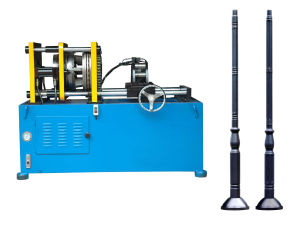Tube Groove Forming Machine for Light Pole&Lamp Post
