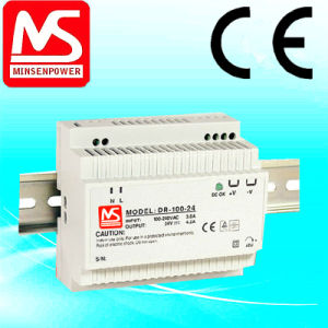 Dr-100-12/100W 12V 7.5A DIN Rail Power Supply