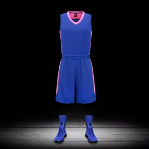 Custom Blank No Minimum Dry Fit Reversible Basketball Uniform pictures & photos