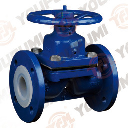 Weir Type G41 PFA Lined Diaphragm Valve pictures & photos