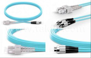 Sc Upc to FC Upc Duplex 2.0mm 10g Om4 Fiber Optical Patch Cable for 10g, 40g, 100g pictures & photos