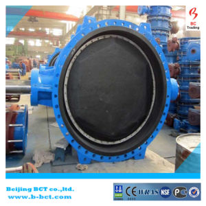 AISI Standard Natural Rubber/X1/Cr Line/Liner/Lined/Lining Eccentric Butterfly Valve Bct-E-Rbfv05 pictures & photos