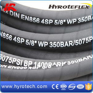 Mangueira Hidraulica/High Pressure Steel Wire Reinforced Hydraulic Hose DIN En856 4sp/4sh pictures & photos