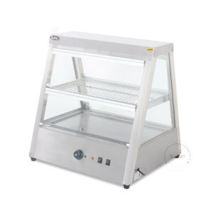 Modern fashion Glass Food Warmer Display Showcase Dh-2 pictures & photos