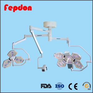 Two Heads Veterinary Surgery Lights with Arm Camera pictures & photos