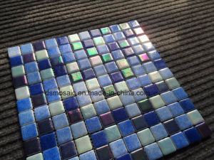 Luxurious Full Body Blue Glassic Mosaic for Swimming Pool pictures & photos