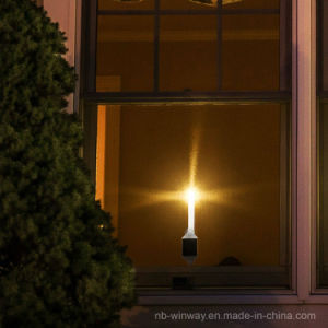 Solar Indoor LED Candle Light for Christmas 2 Pack pictures & photos