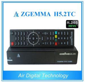 Hevc/H. 265 Decoder DVB-S2+2*DVB-T2/C Dual Tuners Zgemma H5.2tc Linux OS E2 Satellite/Cable Receiver pictures & photos