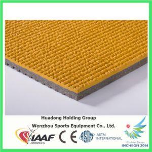 Iaaf Prefabricated Indoor/Outdoor Rubber Floor Mat Roll for Track, Court, Field pictures & photos