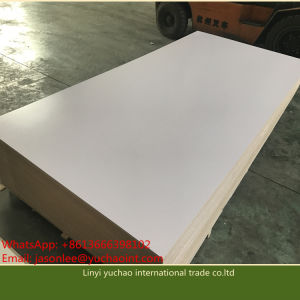 High Quality Melamine Face 16mm Melamine Chipboard for Decoration pictures & photos