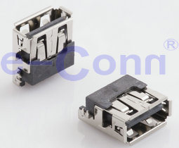 USB Connector Female Right Angled 2.0 4pin pictures & photos