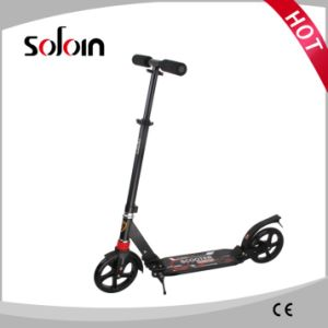 2 Wheel Aluminum Stand up Mini Adults/Kids Kick Scooter (SZKS009) pictures & photos