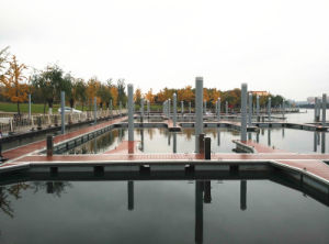 Durable Floating Pontoon Made in China pictures & photos