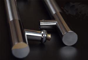Polish+Satin Stainless Steel Hinge H Straight Glass Door Pull Handle pictures & photos