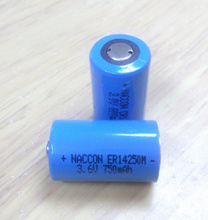 Lithium Ion Rechargeable Battery Er14250m pictures & photos