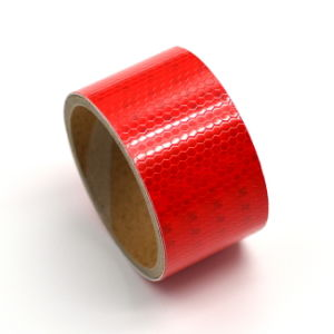 "1/2"" X 4′ Red Highly Reflective Tape"