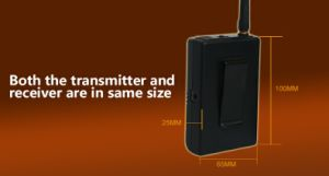 2.4G Digital Wireless Portable Transmitter Tour Guide System pictures & photos