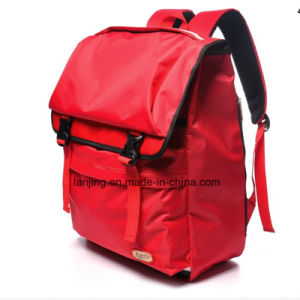 Red Leisure Travel and Sport Shoulder Backpack pictures & photos
