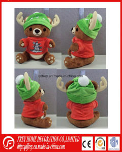 Hot Sale Stuffed Brown Deer for Christmas Gift pictures & photos