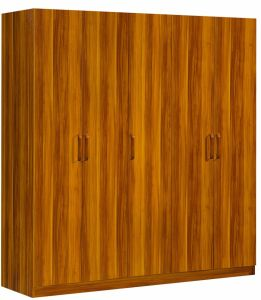 5 Doors Wardrobe Wooden Bedroom Furniture pictures & photos