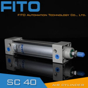Sc40 Series Standard Air Pneumatic Cylinder ISO6430 Airtac Type pictures & photos