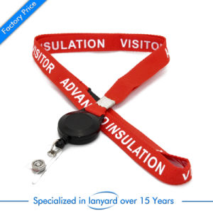 Flat Polyester Lanyard Strap with Clip pictures & photos