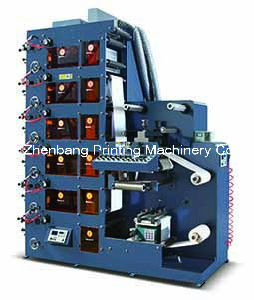 Flexo Printing Machine Zb-320-850 1- 9color pictures & photos
