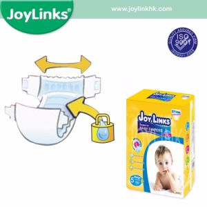 Printed, Embossed PE Film Disposable Baby Diapers for All Size pictures & photos