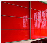 4mm Red Back Painted Glass for Kitchen Offices Decrative pictures & photos