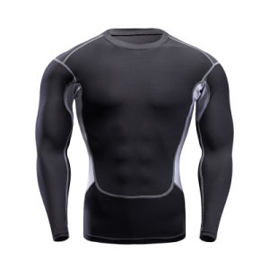 Customized Color Man′s Long Sleeve Gym Training Clothes Sportswear pictures & photos