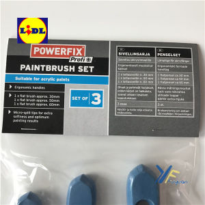 Blue Tip Set of Paint Brush- Powerfix Lidl pictures & photos